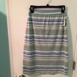 BNWT Old Navy striped skirt
